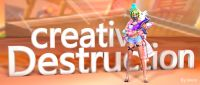 creative destruction Facebook resolution wallpaper