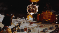 My design for the spooky shot